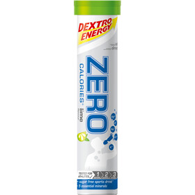 Dextro Energy Zero Calories Electrolyte Tabs 20x4g, Lime